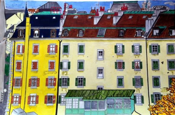 54_View_Out_Window_Geneva_acrylic_painting_Fiona van_Brabandt